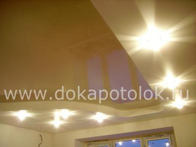 Этапы монтажа двухуровневого натяжного потолка